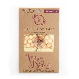 Bee's Wrap sandwich