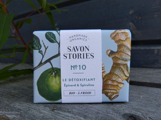 Savon Stories No:10 Detox pinaatti & spirulina